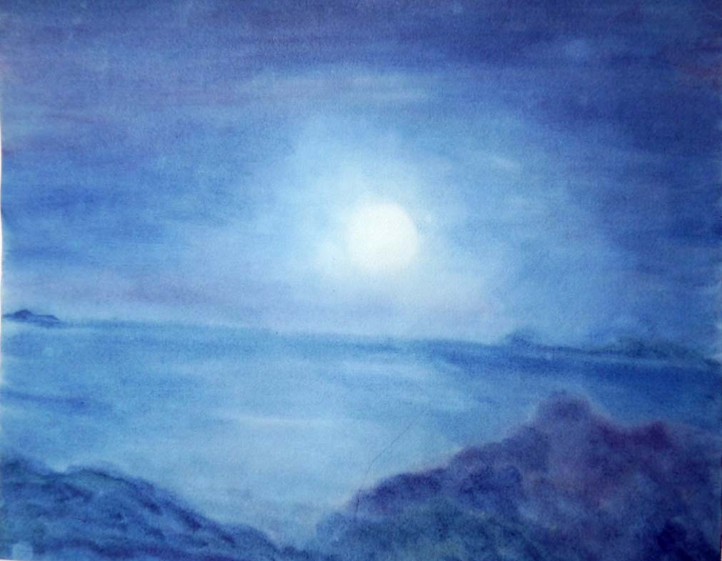 Seelenlandschaft Vollmond